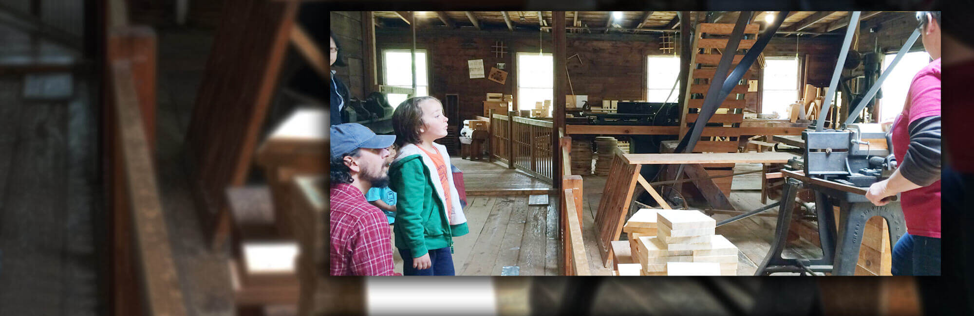 Hanford Mills – The Hanford Mills Museum features an authentic water