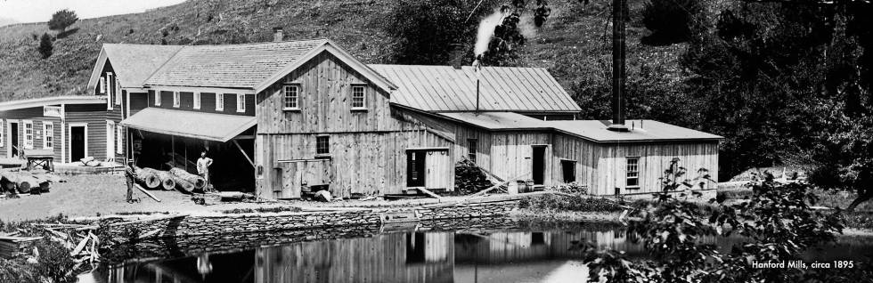 Hanford Mills – The Hanford Mills Museum features an authentic water- and steam-powered sawmill ...