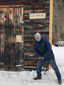 Luke by the Ice House